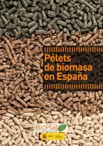 Pélets de biomasa en España (BIOPLAT).
