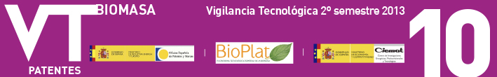 Technological Surveillance Newsletter of the Biomass sector No.10 (second semester 2013)