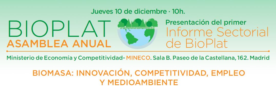 Asamblea BIOPLAT 2015 – Documentación disponible