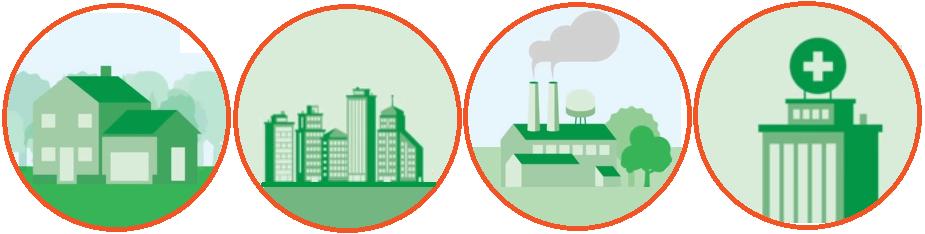 edificios sectores