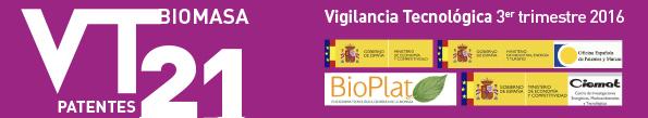 Boletín de Vigilancia Tecnológica del sector de la Biomasa Nº 21 (3er trimestre 2016)