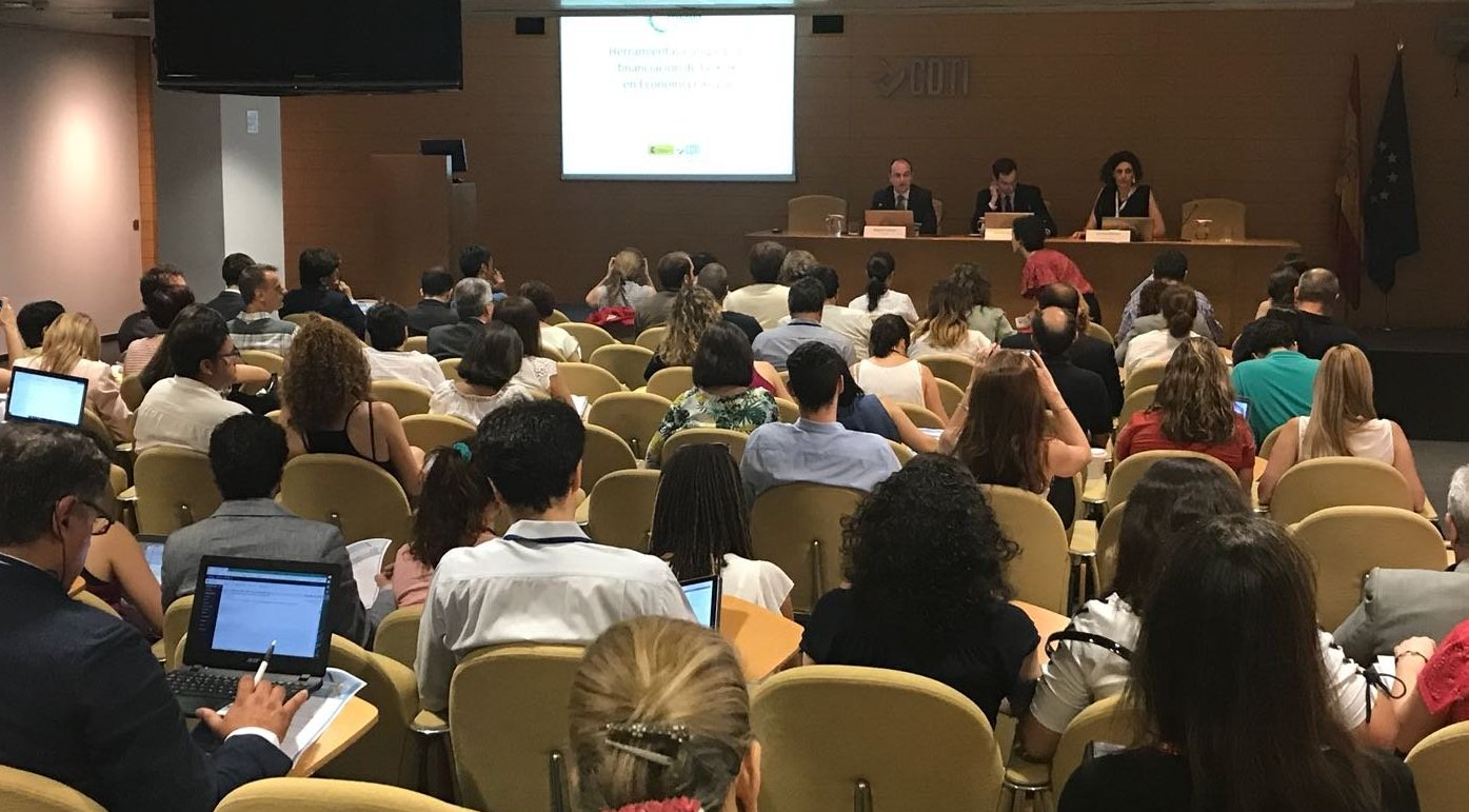 """PRESENTACIONES DISPONIBLES: JORNADA 'HERRAMIENTAS EUROPEAS DE FINANCIACIÓN DE LA I+D+i EN ECONOMÍA CIRCULAR"""" (26 JUNIO)"""