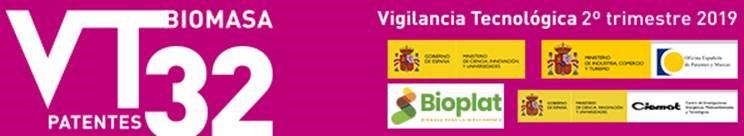 (Español) BOLETÍN DE VIGILANCIA TECNOLÓGICA DEL SECTOR DE LA BIOMASA Nº 32 (2º TRIMESTRE 2019)
