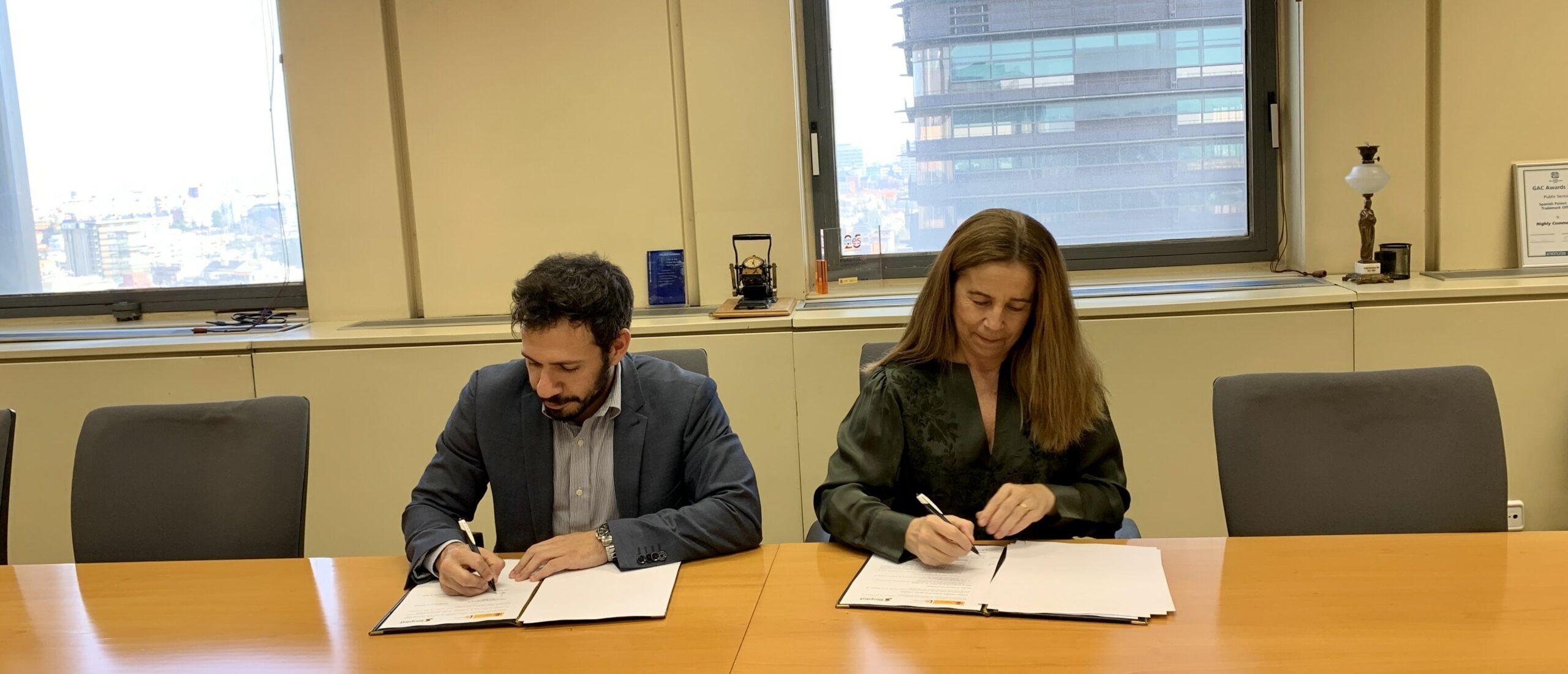 (Español) BIOPLAT y OEPM actualizan su convenio de colaboración para impulsar la competitividad de la industria española en el campo de la biomasa, la bioenergía y los bioproductos