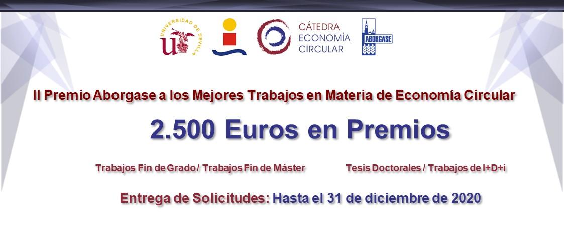 Abierta convocatoria para II Premio Aborgase a los Mejores Trabajos en materia de Economía Circular