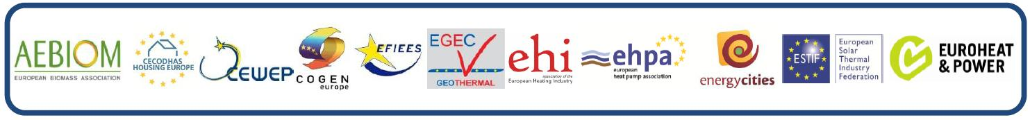 European heating&cooling assosiations