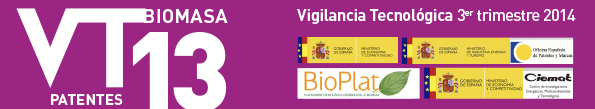 Technological Surveillance Newsletter of the Biomass sector No.13 (third trimester 2014)