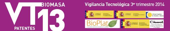 Technological Surveillance Newsletter of the Biomass sector No.13 (third trimester 2014)