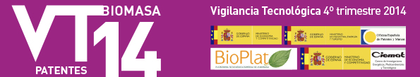 Technological Surveillance Newsletter of the Biomass sector No.14 (fourth trimester 2014)