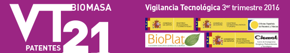 Technological Surveillance Newsletter of the Biomass sector No.21 (3rd trimester 2016)