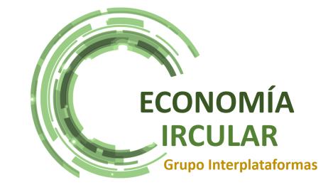 La Economía Circular protagonizó el mes de Septiembre con dos jornadas del Grupo Interplataformas de Economía Circular
