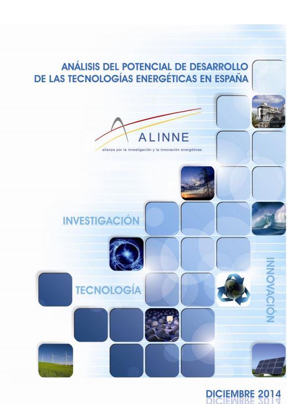 (Español) Análisis del potencial de desarrollo de las tecnologías energéticas en España (ALINNE)