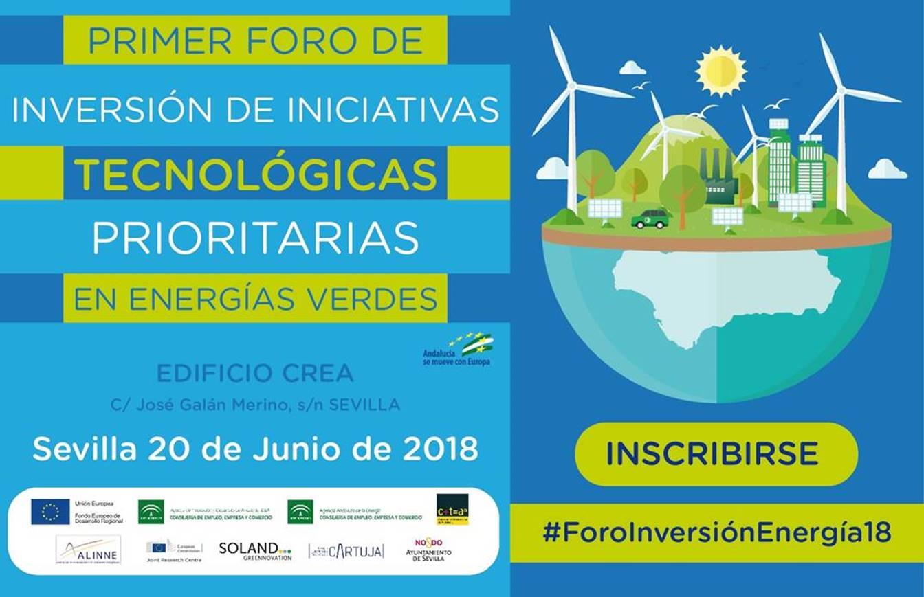 Jornada «Impulso de Iniciativas Tecnológicas Prioritarias en Andalucía» (20 junio | 9:30 h | Sevilla)