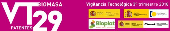 BOLETÍN DE VIGILANCIA TECNOLÓGICA DEL SECTOR DE LA BIOMASA Nº 29 (3er TRIMESTRE 2018)