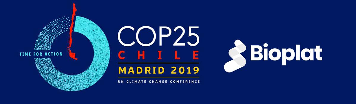 BIOPLAT en la COP 25 'ACCIÓN POR EL CLIMA'