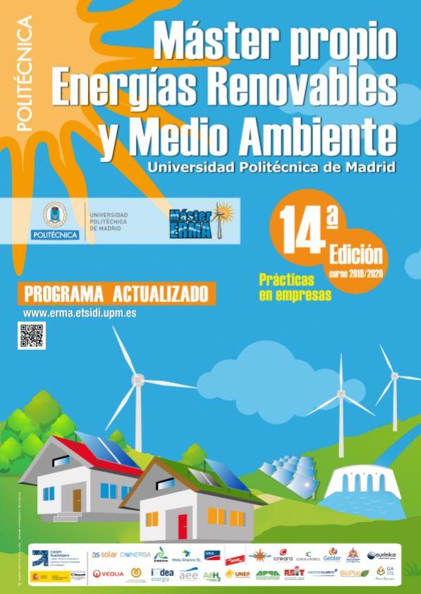BIOPLAT colabora con el Máster en Energías Renovables y Medio Ambiente ERMA de la Universidad Politécnica de Madrid en su nueva edición