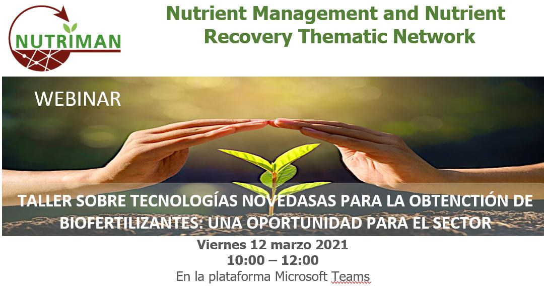 (Español) CARTIF organiza un taller sobre tecnologías innovadoras para la obtención de biofertilizantes
