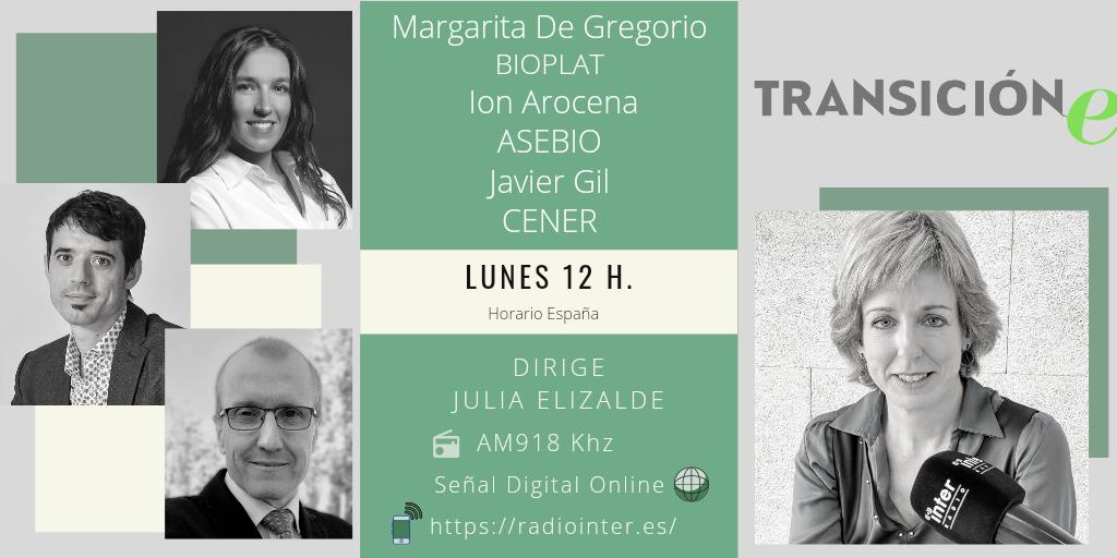 """Lunes 17 de mayo, 12h: Programa «TRANSICIÓN e». """"LA BIOMASA, UNA OPORTUNIDAD ENERGÉTICA Y DE BIOECONOMÍA"""""""